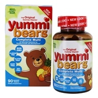 Hero Nutritional Products - Yummi Bears Children's Multi-Vitamin & Minerals - 90 Gummies - $11.43