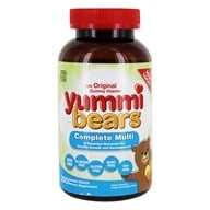 Hero Nutritional Products - Yummi Bears Children's Multi-Vitamin & Minerals - 200 Gummies