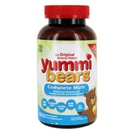 Hero Nutritional Products - Yummi Bears Children's Multi-Vitamin & Minerals - 200 Gummies, from category: Vitamins & Minerals