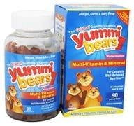 Hero Nutritional Products - Yummi Bears Children's Multi-Vitamin & Mineral Watermelon - 90 Gummies by Hero Nutritional Products