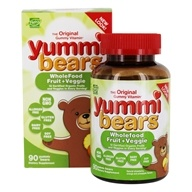 Image of Hero Nutritional Products - Yummi Bears Children's Vitamins Wholefood & Antioxidants - 90 Gummies