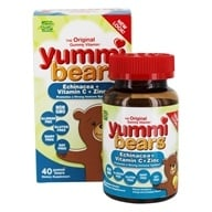 Hero Nutritional Products - Yummi Bears Echinacea Plus Vitamin C & Zinc - 40 Gummies (613098683750)