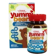 Hero Nutritional Products - Yummi Bears Echinacea Plus Vitamin C & Zinc - 40 Gummies - $8.51