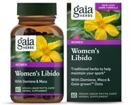 Gaia Herbs - Womens Libido Liquid Phyto Capsules - 60 Vegetarian Capsules, from category: Herbs
