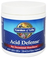 Garden of Life - Acid Defense For Occasional Heartburn - 360 Grams
