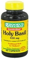 Good 'N Natural - Holy Basil 450 mg. - 60 Capsules, from category: Herbs