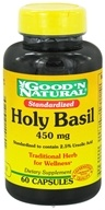 Good 'N Natural - Holy Basil 450 mg. - 60 Capsules by Good 'N Natural