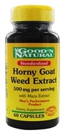 Good 'N Natural - Horny Goat Weed With Maca Extract - 60 Capsules (074312473210)