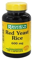Good 'N Natural - Red Yeast Rice 600 mg. - 120 Capsules (074312462108)