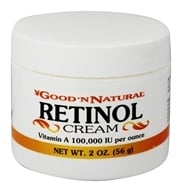 Good 'N Natural - Retinol Cream Vitamin A 100000 IU - 2 oz. by Good 'N Natural