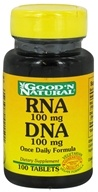 Good 'N Natural - RNA DNA 100 mg. - 100 Tablets