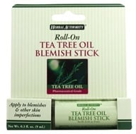Herbal Authority - Roll-On Blemish Stick with Tea Tree Oil - 3 oz. Formerly Called Good 'N Natural (074312788727)