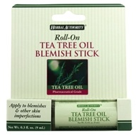 Herbal Authority - Roll-On Blemish Stick with Tea Tree Oil - 3 oz. Formerly Called Good 'N Natural by Herbal Authority