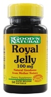 Good 'N Natural - Royal Jelly 100 mg. - 50 Softgels by Good 'N Natural