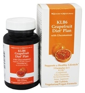 Good 'N Natural - KLB6 Grapefruit Diet Plan with Glucomannan - 100 Tablets (074312439704)