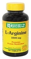 Good 'N Natural - L-Arginine 1000 mg. - 50 Tablets
