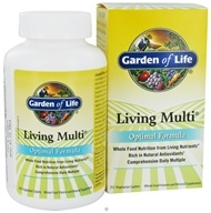 Garden of Life - Living Multi Optimal Formula - 252 Vegetarian Caplet(s), from category: Vitamins & Minerals