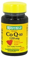 Good 'N Natural - CoQ-10 120 mg. - 30 Softgels (074312418501)