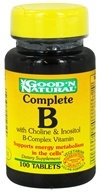 Good 'N Natural - Complete B Tablet B-Complex Vitamin - 100 Tablets, from category: Vitamins & Minerals