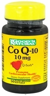 Good 'N Natural - CoQ-10 10 mg. - 50 Softgels by Good 'N Natural