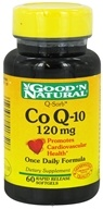 Good 'N Natural - CoQ-10 120 mg. - 60 Softgels
