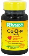 Good 'N Natural - CoQ-10 200 mg. - 30 Softgels by Good 'N Natural