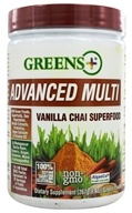 Greens Plus - Smart & Fit Superfood Vanilla Chai - 9.4 oz. CLEARANCED PRICED, from category: Detoxification & Cleansing
