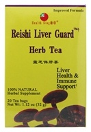 Health King - Reishi Liver Guard Herb Tea - 20 Tea Bags (646322000146)