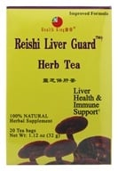 Health King - Reishi Liver Guard Herb Tea - 20 Tea Bags by Health King