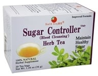 Health King - Sugar Controller (Blood Cleansing) Herb Tea - 20 Tea Bags by Health King