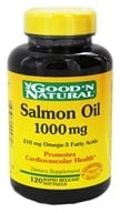 Good 'N Natural - Salmon Oil with Omega-3 Fatty Acids 1000 mg. - 120 Softgels by Good 'N Natural