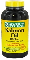 Good 'N Natural - Salmon Oil with Omega-3 Fatty Acids 1000 mg. - 240 Softgels (074312444630)