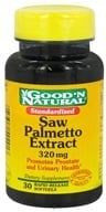 Good 'N Natural - Saw Palmetto 320 mg. - 30 Softgels