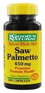 Good 'N Natural - Saw Palmetto 450 mg. - 100 Capsules, from category: Nutritional Supplements