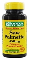 Good 'N Natural - Saw Palmetto 450 mg. - 100 Capsules - $3.47