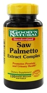 Good 'N Natural - Saw Palmetto Complex With Pygeum - 120 Softgels (074312416422)