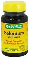 Image of Good 'N Natural - Selenium 200 mcg. - 100 Tablets