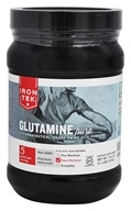 Iron Tek - Glutamine Pure Amino Acid Powder - 1.1 lbs. Formerly Essential Glutamine Monohydrate Powder