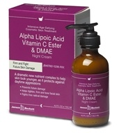 Janson Beckett - Alpha Lipoic Acid Vitamin C Ester & DMAE Night Cream - 4 oz.