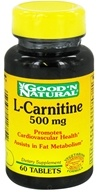 Good 'N Natural - L-Carnitine 500 mg. - 60 Tablets by Good 'N Natural