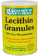Good 'N Natural - Lecithin Granules (95% Soy Phosphatides) - 14 oz. (074312410642)