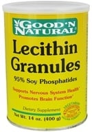 Good 'N Natural - Lecithin Granules (95% Soy Phosphatides) - 14 oz. by Good 'N Natural