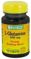 Image of Good 'N Natural - L-Glutamine 500 mg. - 50 Tablets