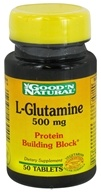 Good 'N Natural - L-Glutamine 500 mg. - 50 Tablets - $2.90