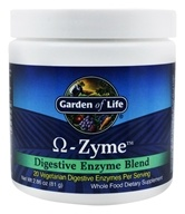 Garden of Life - Omega Zyme Digestive Enzyme Blend - 81 Grams, from category: Nutritional Supplements