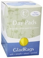 Glad Rags - Color Cotton Day Reusable Pads - 3 Pack(s), from category: Personal Care