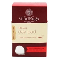 Glad Rags - Organic Cotton Undyed Day Reusable Pads - 3 Pack(s)