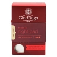 Image of Glad Rags - Organic Cotton Undyed Night Reusable Pads - 1 Pack(s)