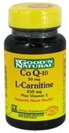 Image of Good 'N Natural - CoQ-10 30 Mg & L-Carnitine 250 Mg - 30 Softgels