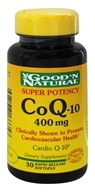 Good 'N Natural - CoQ-10 400 mg. - 30 Softgels by Good 'N Natural